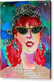 Starstruck Acrylic Print by Diane Fine