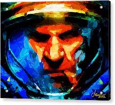 Startcraft - Let The War Begin Tnm Acrylic Print by Vincent DiNovici