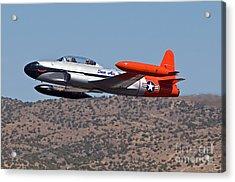 Starter Plane- T33 Acrylic Print by Steve Rowland