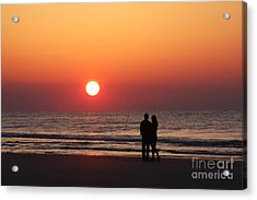 Starting Your Day Off Right With The One You Love Acrylic Print