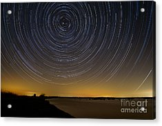 Startrails 3 Acrylic Print by Benjamin Reed