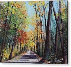 Starved Rock Park - Autumn Colors Acrylic Print by Prashant Shah