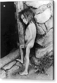 Starving Child Acrylic Print by Underwood Archives