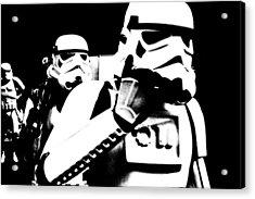 Starwars Troopers Acrylic Print