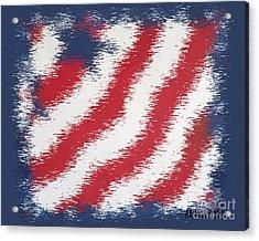 Starz And Stripez Acrylic Print