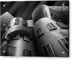 Stata Center Acrylic Print by Louis-philippe Provost