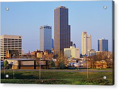 State Capital And Skyline In Little Acrylic Print