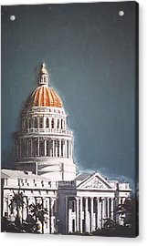 State Capitol Acrylic Print by Paul Guyer