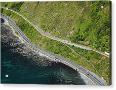 State Highway One And North Island Main Acrylic Print by David Wall