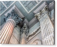 State House Exterior Columns Acrylic Print