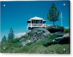 State Line Lookout 1956 3 Acrylic Print by Cumberland Warden