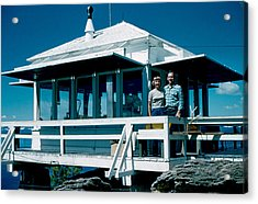 State Line Lookout 1956 Acrylic Print by Cumberland Warden
