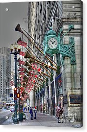 State Street That Great Street Acrylic Print by David Bearden