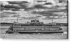 Staten Island Ferry 10484 Acrylic Print