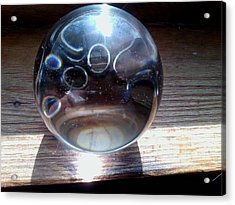Static Spheres Acrylic Print by Jaime Neo