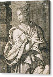 Statilia Messalina Third Wife Of Nero Acrylic Print