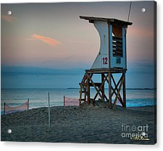 Acrylic Print featuring the photograph Station 12 At Sunrise by Phil Mancuso