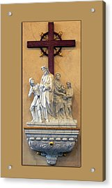 Station Of The Cross 01 Acrylic Print by Thomas Woolworth