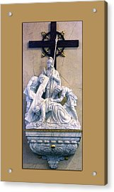 Station Of The Cross 07 Acrylic Print by Thomas Woolworth