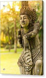 Statue - Bali Acrylic Print