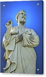 Statue 03 Acrylic Print by Thomas Woolworth