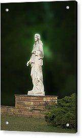 Statue 07 Acrylic Print by Thomas Woolworth