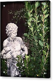 Acrylic Print featuring the photograph Statue 1 by Pamela Cooper