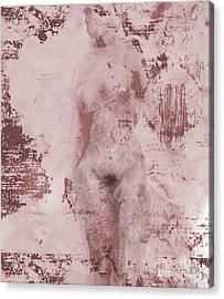 Statue Acrylic Print by Gabrielle Schertz