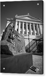 Statue Near The Capital Acrylic Print