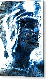 Statue Of A Gladiator  Acrylic Print by Tommytechno Sweden