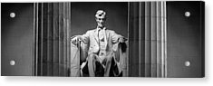 Statue Of Abraham Lincoln Acrylic Print by Panoramic Images