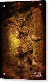Statue Of Angel Acrylic Print