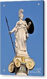 Statue Of Athena Acrylic Print