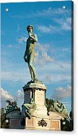 Statue Of David Acrylic Print by Gurgen Bakhshetsyan