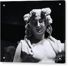 Acrylic Print featuring the photograph Statue Of Dionysus by Catherine Fenner