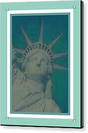 Statue Of Liberty 2 Acrylic Print by Tracie Howard