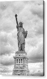 Acrylic Print featuring the photograph Statue Of Liberty Full by Dave Beckerman