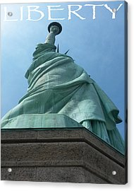 Statue Of Liberty Acrylic Print