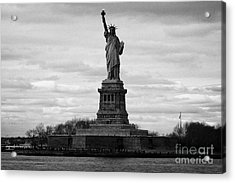 Statue Of Liberty Liberty Island New York City Usa Acrylic Print by Joe Fox