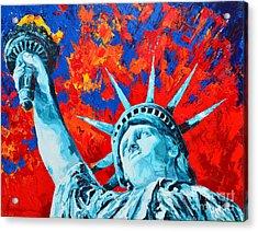 Statue Of Liberty - Lady Liberty Acrylic Print