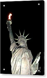 Statue Of Liberty Replica In Alabama Acrylic Print by Kathy  White