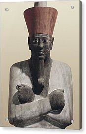 Statue Of Mentuhotep II. 2040 Bc Acrylic Print by Everett