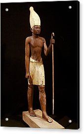 Statue Of Sesostris I. 1971 -1928 Bc Acrylic Print by Everett