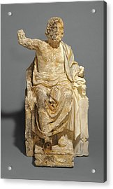 Statue Of Zeus Enthroned Unknown About 100 B Acrylic Print