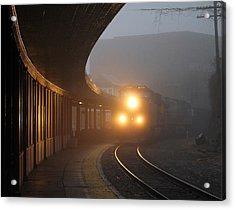Staunton Virgina Train Acrylic Print