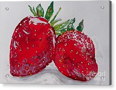 Stawberries Acrylic Print