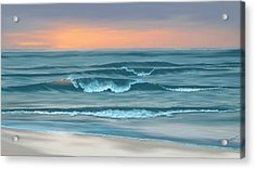 Acrylic Print featuring the digital art Stay Awhile Longer by Anthony Fishburne