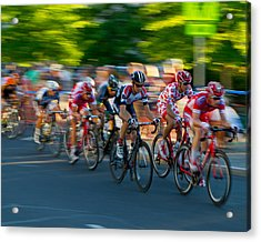 Acrylic Print featuring the photograph Stay Focused by Kevin Desrosiers