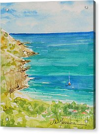 St.barts--the French Island Acrylic Print