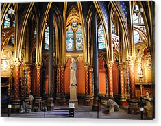 Ste.-chapelle Lower Chapel Acrylic Print